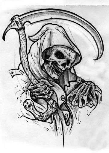 tattoo drawing apps 58 best grim reaper images on grim reaper