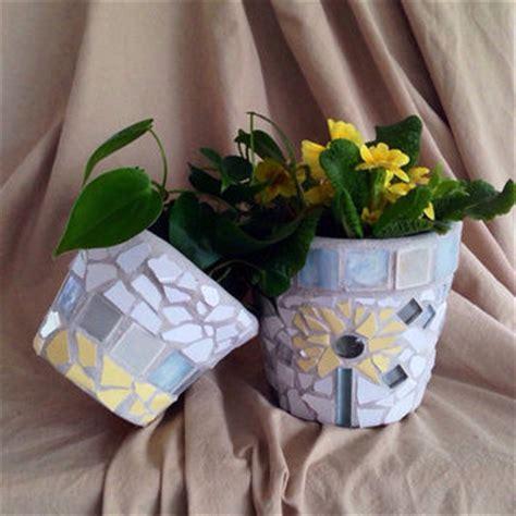 Handmade Mosaic Flower Pot Terracotta Planter Outdoor - flower pot terra cotta planter handmade from