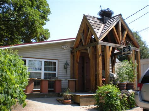 Cady Cottage Hermann Mo the front of the cady carriage house cottage foto di