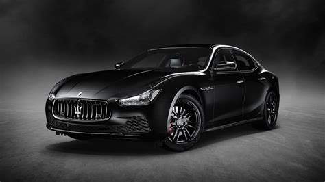 maserati unveils new special edition ghibli nerissimo at