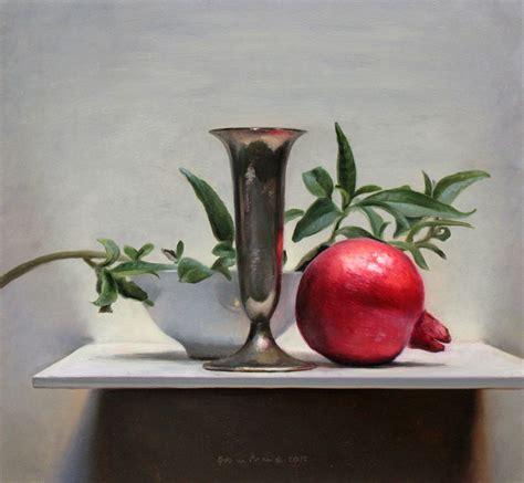 watercolor tutorial still life oil painting demos by dutch artist jos van riswick