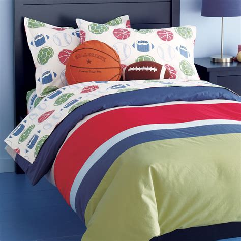 football comforter colorful bedding colorful kids rooms