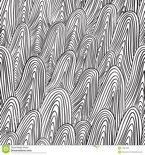 pattern abstract lines abstract lines seamless pattern stock vector image