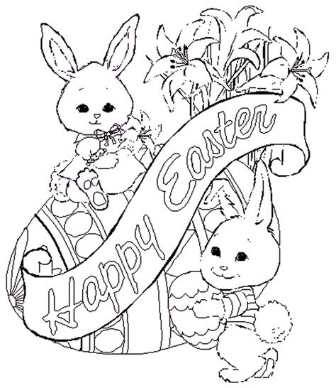 free coloring pages for easter printables 13 easter coloring pages