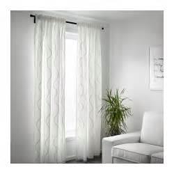 White Curtains Ikea Hillmari Curtains 1 Pair White 145x300 Cm Ikea