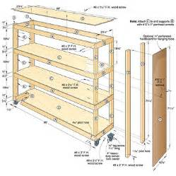 pdf diy woodworking plans garage shelves download