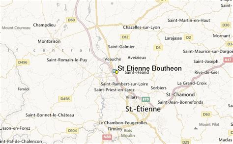 etienne map st etienne boutheon weather station record historical
