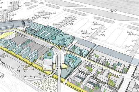 house plan new development plans for airport project visuals schiphol airport masterplan projects kcap