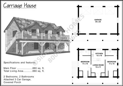 carriage house floor plans carriage house log homes
