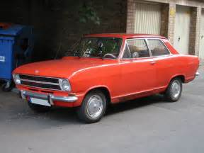 1970 Opel Kadett 1970 Opel Kadett Information And Photos Momentcar
