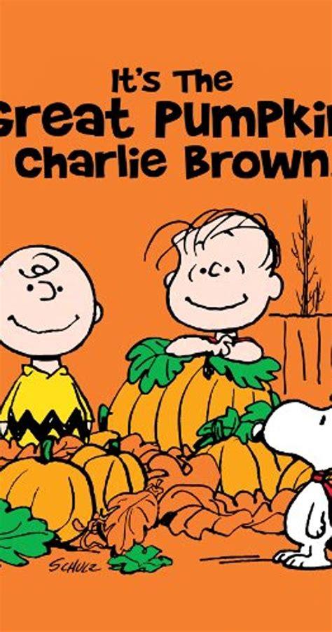 Pdf Great Pumpkin Brown by It S The Great Pumpkin Brown 1966 Imdb