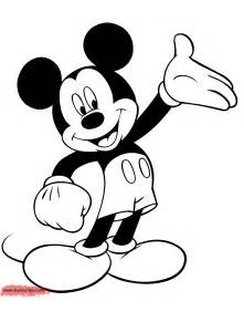 mickey mouse colors mickey mouse coloring pages disney coloring book