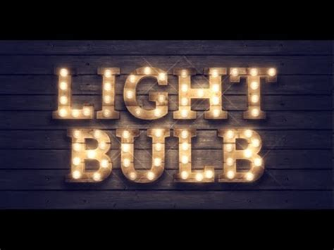 template after effects gun light bulb kit after effects template youtube