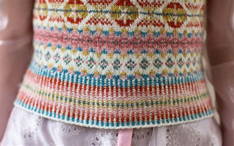how to carry yarn in fair isle knitting alcott by henderson jamieson and smith real