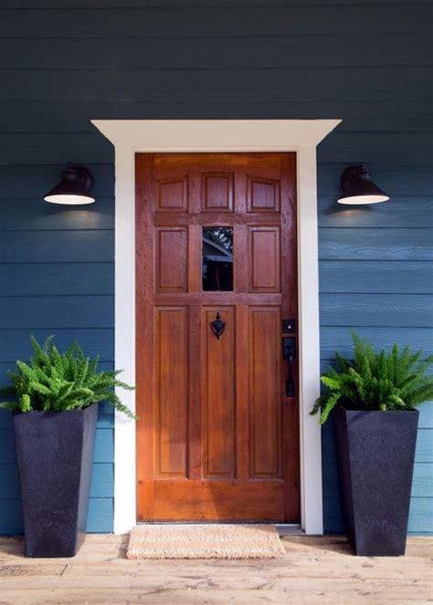 dark rustic wood through the front door photo page hgtv