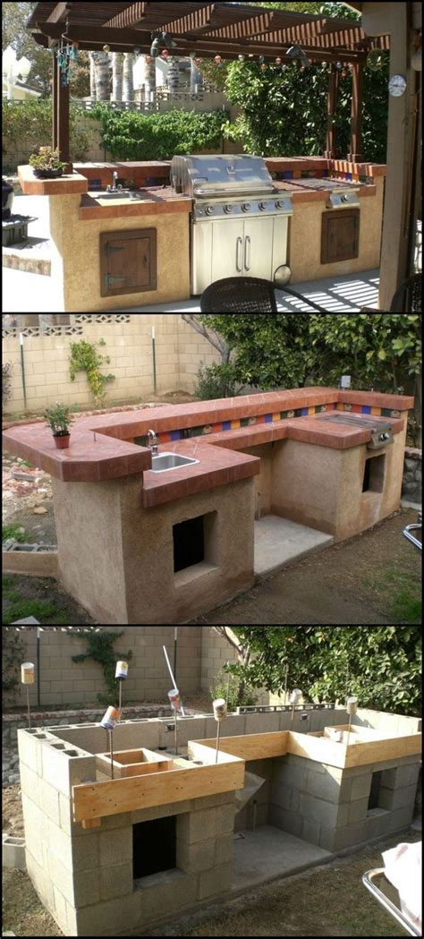 16 budget friendly diy backyard furniture ideas you need outdoor kitchen design ideas pictures tips amp expert