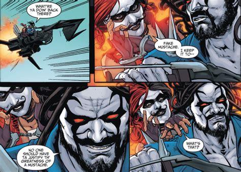 Kaos Justice League Superman Batman The Flash Green Lantern quot no one should to justify a moustache