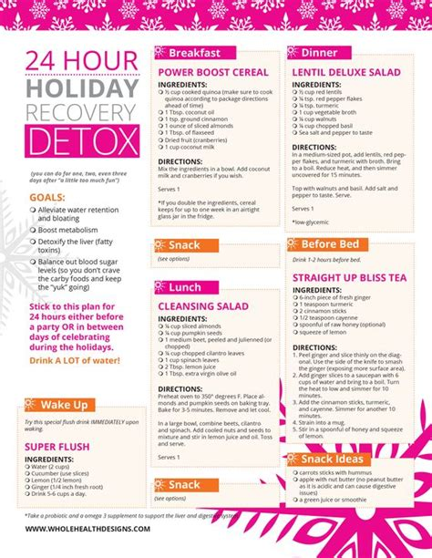 24 Hour Juice Detox Diet by 24 Hour Recovery Detox Best Diets The Doctor