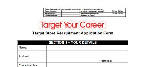 Target Hiring Process Background Check Target Application Employment Form Tips