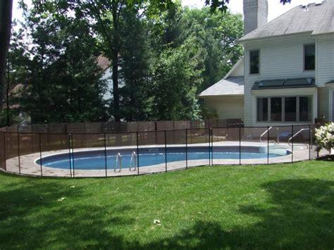 best in ground fence inground pool safety fences inground pool fence