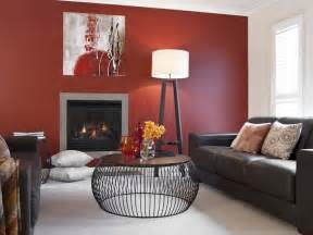 How To Color Wash Walls - lounge room red feature wall inspirations paint