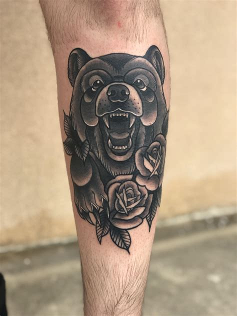 dark matter tattoo neo traditional by melanie matter tattoos