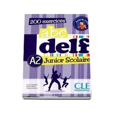 libro abc delf livre de abc delf niveau a2 junior scolaire livre si cederom 200 exercices dvd rom audio et