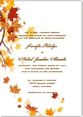 fall wedding invitation template best template collection