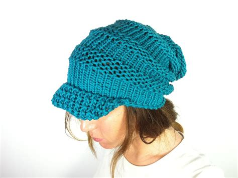 loom hat loom knit slouchy hat patterns a knitting