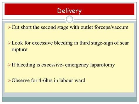 excessive bleeding after c section post caesarian pregnancy