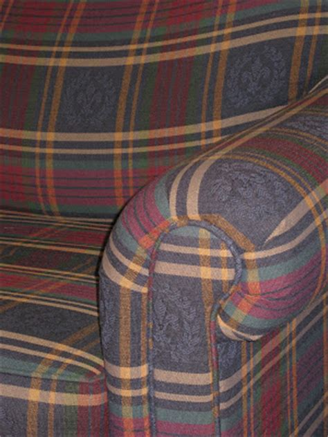 broyhill plaid sofa uhuru furniture collectibles sold broyhill plaid