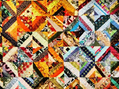 Patchwork Puzzle - patchwork blanket jigsaw puzzle in handmade puzzles on