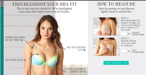 how to correctly measure yourself for a bra 187 fashion