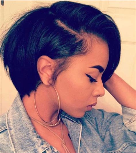 black people short hair style sleek in front curly back 70 best short hairstyles for black women with thin hair