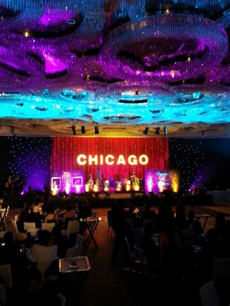 chicago themed decorations chicago house dinner themes and gala dinner on