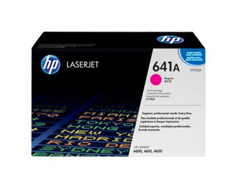 Tinta Printer Hp Laserjet tinta toner printer hp magenta toner laserjet 641a c9723a
