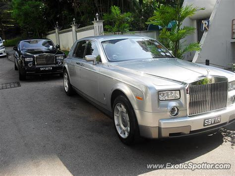 Rolls Royce Phantom Spotted In Singapore Singapore On 08