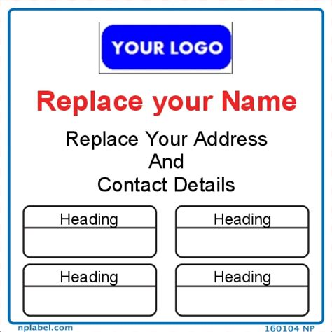 create your own label template make your own labels