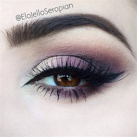 Eyeshadow Soft 10 purple smokey eye looks