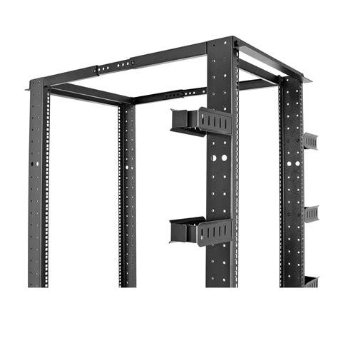 42u Open Rack by V7 Racks 42u Open Frame 4 Post Rack Server Mount