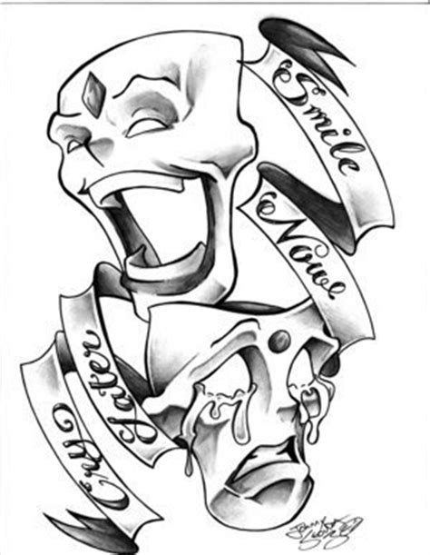 Smile Now Cry Later Coloring Pages pin gangsters drawings smile now cry later graffiti on