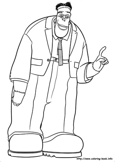 halloween coloring pages hotel transylvania hotel transylvania coloring picture colour it in