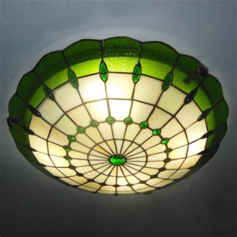stained glass ceiling fan light kit products lighting ceiling lighting flushmount
