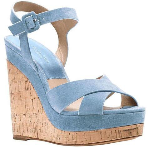 light blue wedge sandals light blue wedge heels ha heel