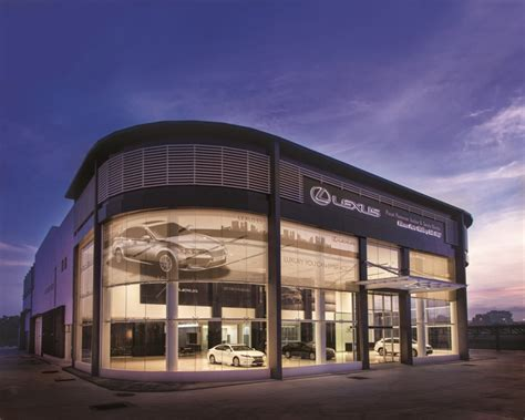 lexus dealership allcarschannel com lexus malaysia establishes eighth