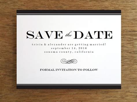 save the date free templates printable free save the date templates e m papers