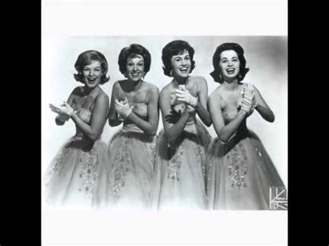 jinny osborn the chordettes baby come a back a c 1958 youtube