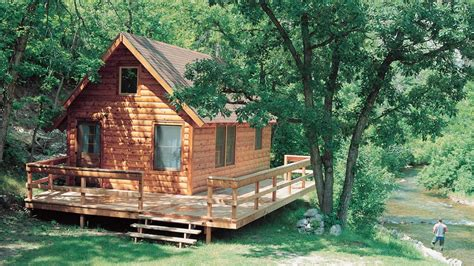 log home design plan and kits for woodsman