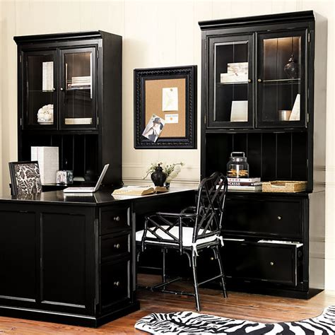 ballard designs office ballard designs tuscan return office large contemporary bookcases by ballard designs