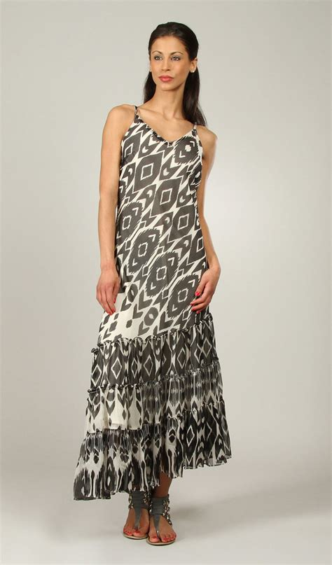 new womens kushi summer multi maxi dress size